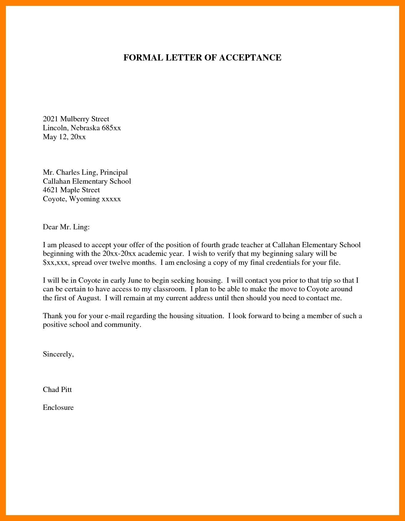 How To Write A Letter To A Principal How To Write Letter
