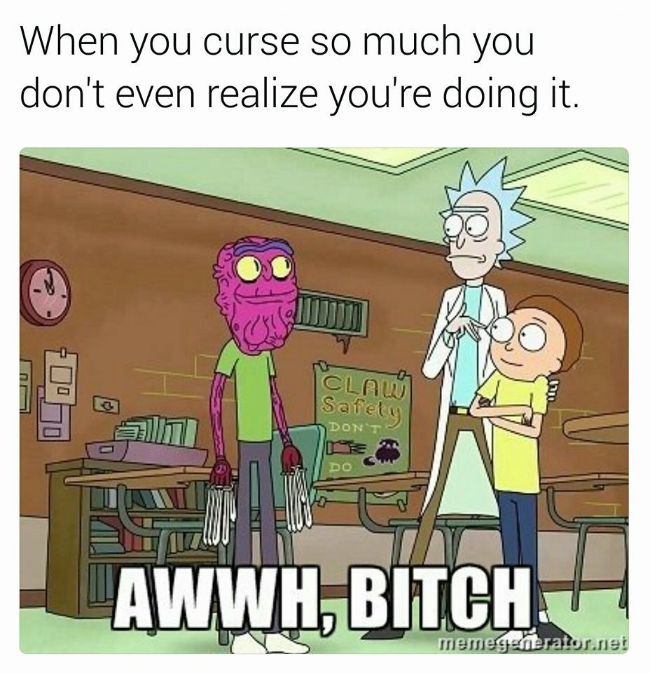 Pin By Megan Rosson On Humour Rick And Morty Quotes Scary Terry Rick I Morty