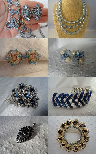 Shades of Blue Skies by Vicky Rodriguez on Etsy--Pinned with TreasuryPin.com
