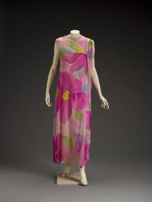 Dress Pauline Trigère, late 1960s The Indianapolis Museum of Art