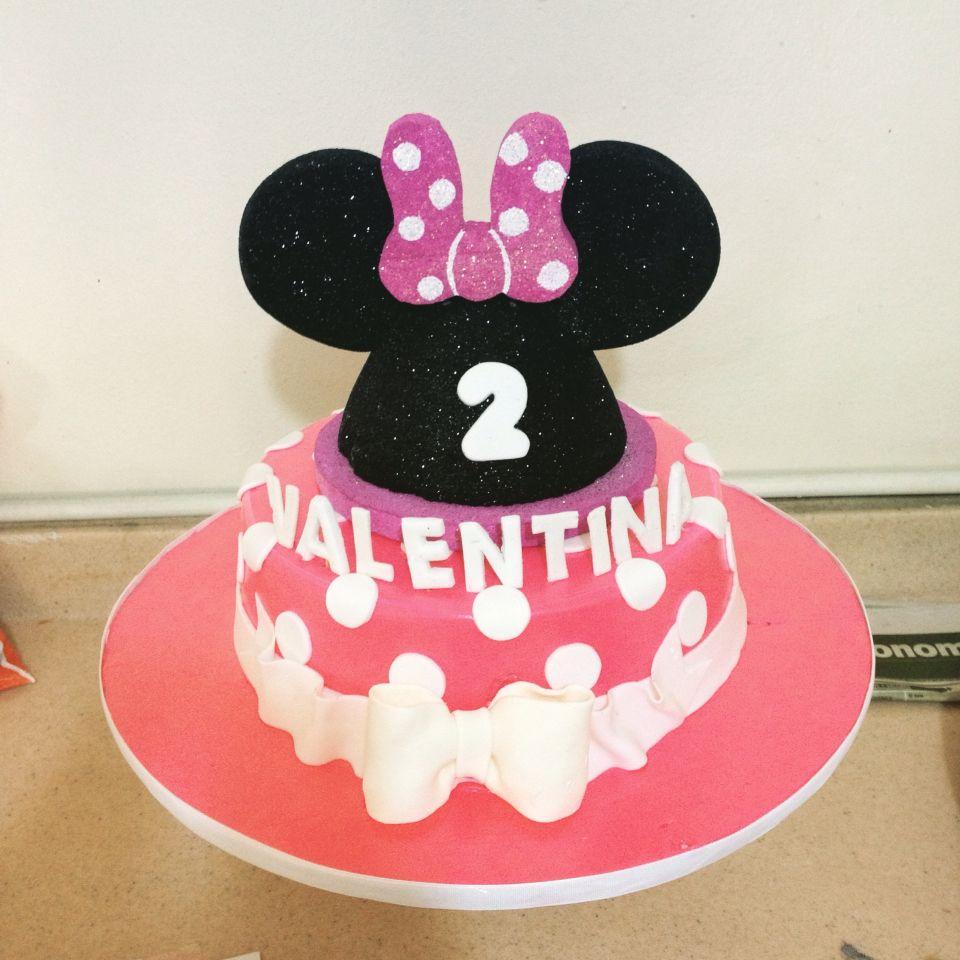 Cake de Minnie