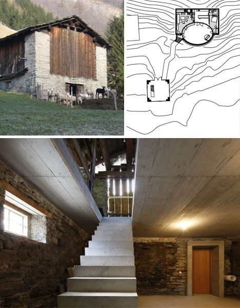 Villa Vals A Home Cut From A Mountainside And Fit For A