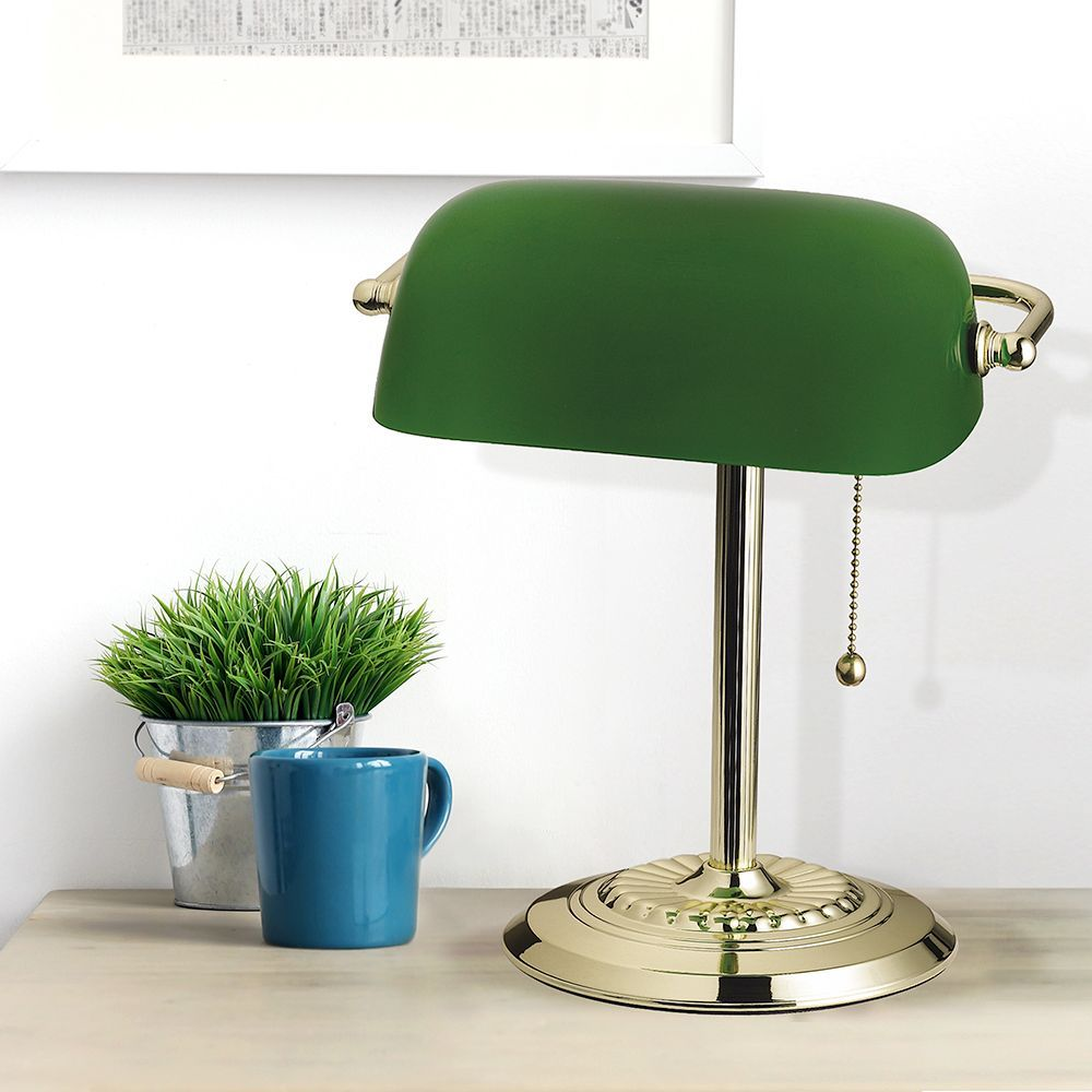 Nothing Celebrates St Patricks Day Better Than Our Franklin Banker S Lamp Available At Amazon Catalinatensorlighting Bankers Lamp Lamp Incandescent Lamp