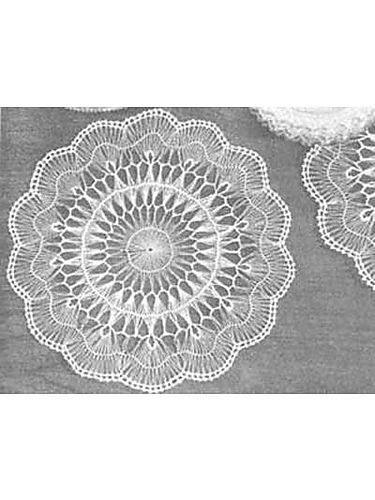 Ravelry: Hairpin Lace Doily pattern by Old-Time Crochet magazine