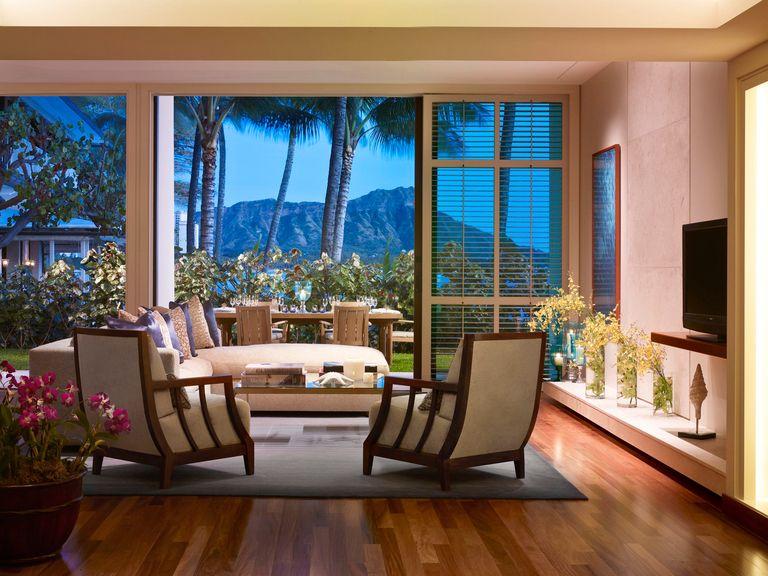 Orchid Suite At The Halekulani Hotel In Honolulu Hawaii