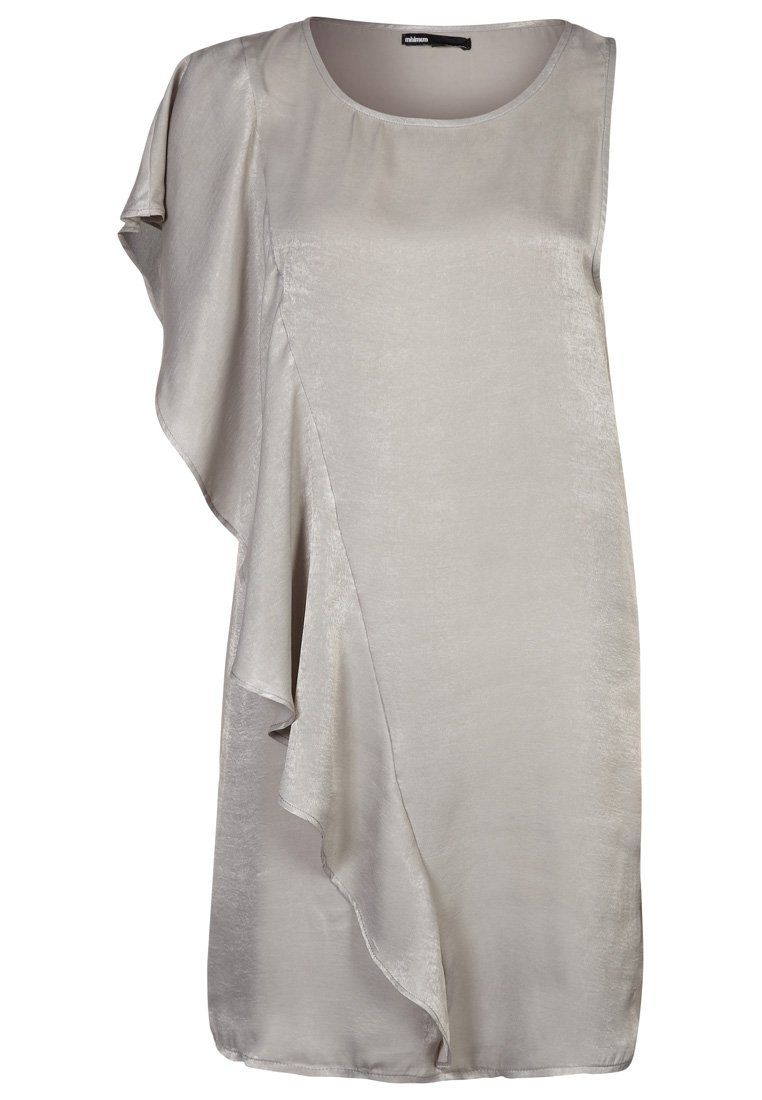 Asymmetrische jurk van Minimum @ Zalando ♥ Zilver
