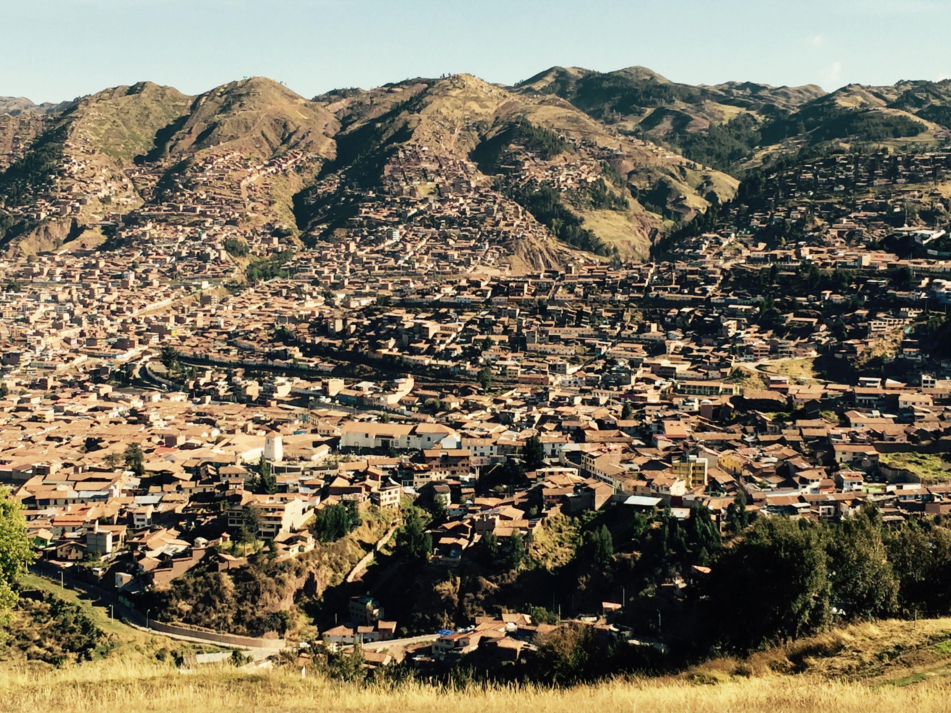 Vista de Cusco desde Sacsayhuamán