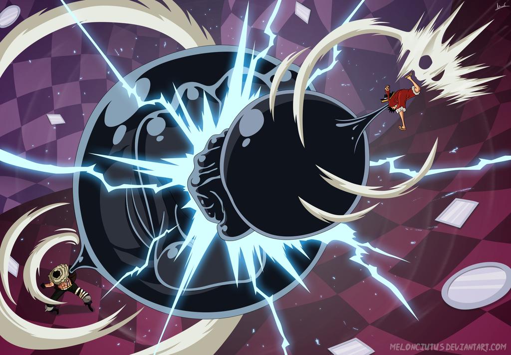 One Piece 879 Luffy vs Katakuri by Melonciutus Anime