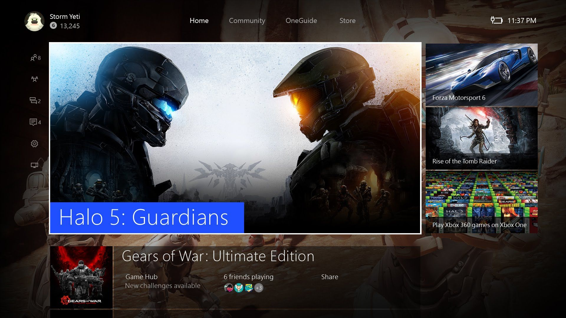 Xbox One Dashboard redesign: Faster performance new Content Blocks