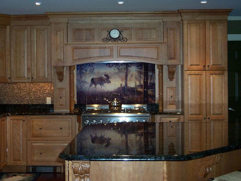 3 Kitchen Backsplash Ideas Pictures Of Installed Tile Murals