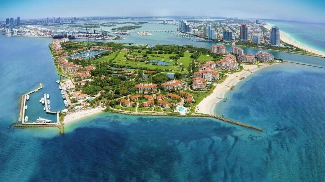 Miami's milliondollar communities dipped in home values