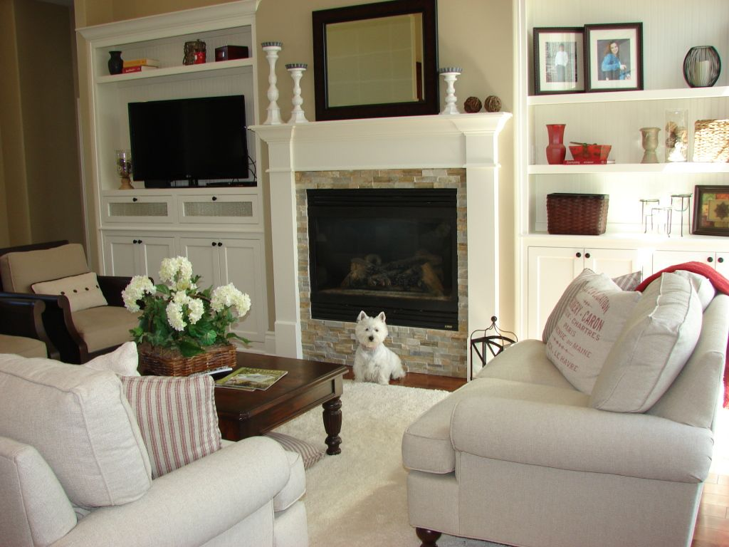 rtwilliams fireplace, asymmetrical built-ins | small spaces ...