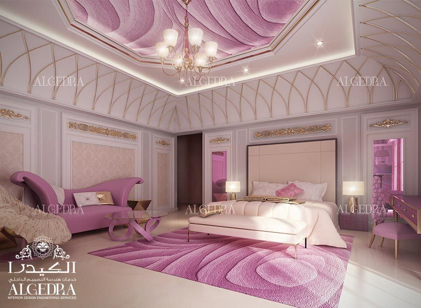 [Pretty Color, Poised Between Pink And Purple.] Bedroom Interior Design    Small Bedroom Designs Algedra.ae