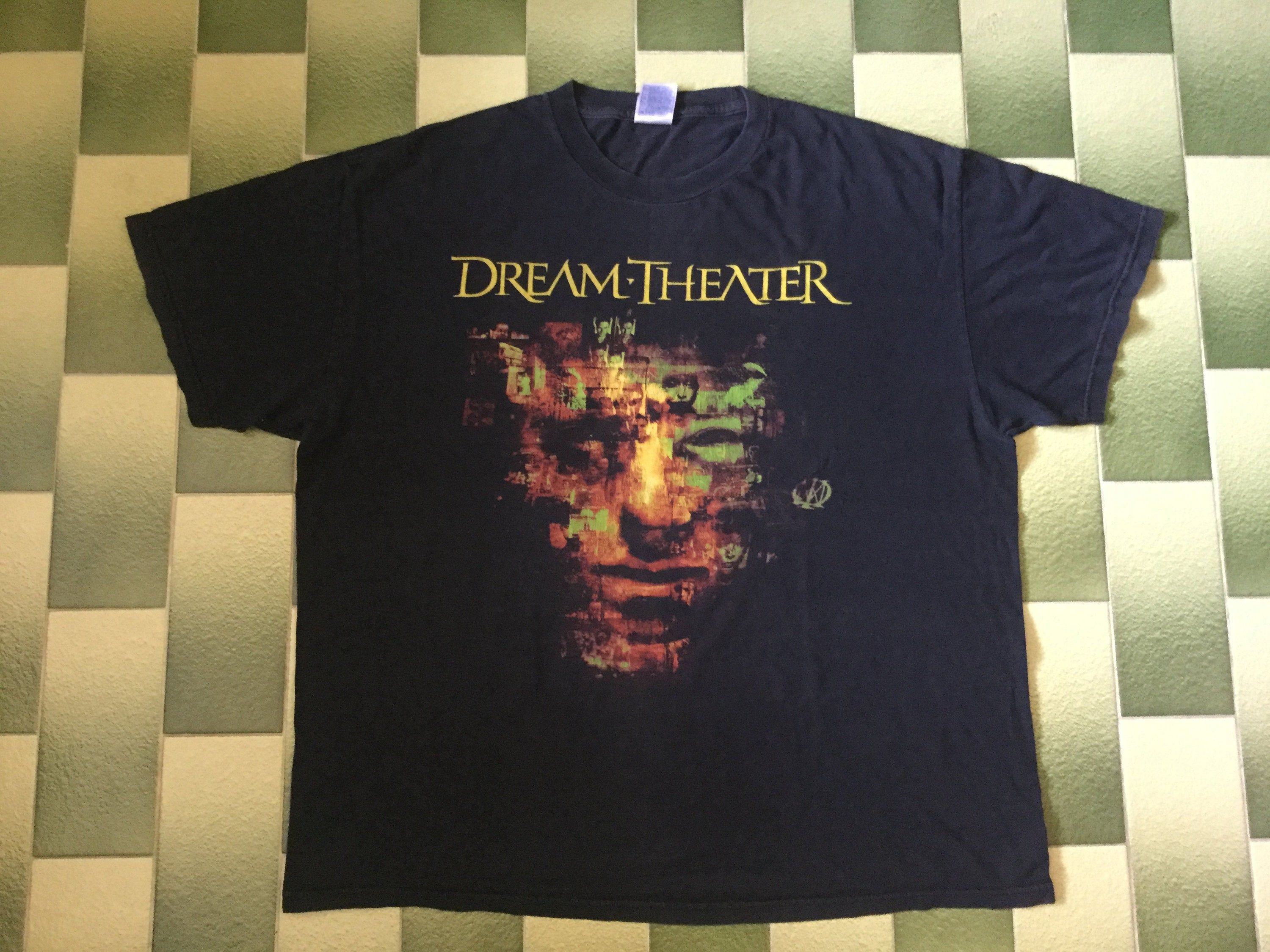 Vintage Dream Theater Metropolis Scenes From A Memory T Shirt Etsy Dream Theater Car Tee Shirts Tour Shirt