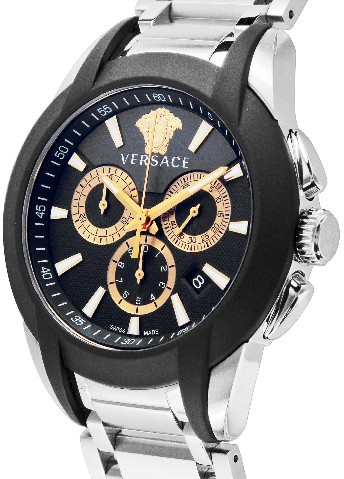 8a097b98806 Versace Watch Character Chronograph Date M8c99d007s099
