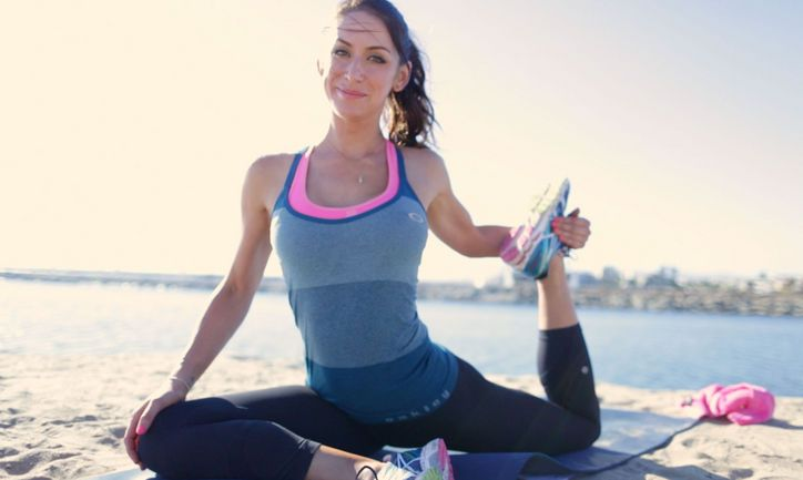 Yoga-inspired stretches to do on a day off from working out