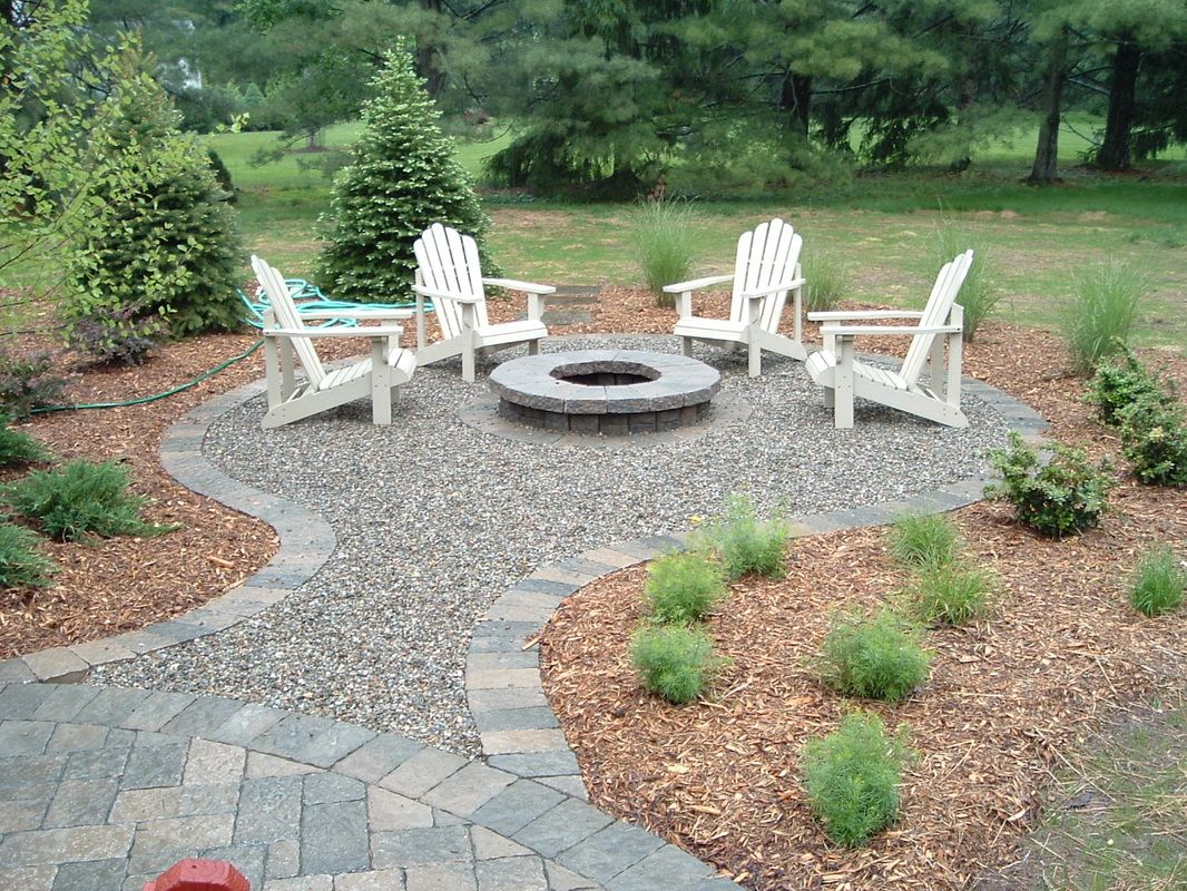 Five pinworthy fire pits in 2019 fire pits gravel - Small backyard fire pit ideas ...