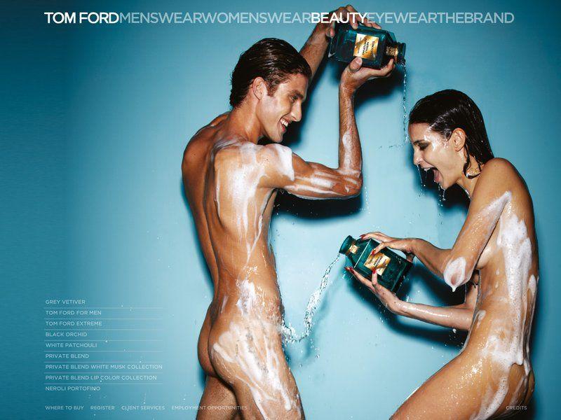 Mariana Braga and Max Motta for Tom Ford Neroli Portofino Fragrance S/S 11