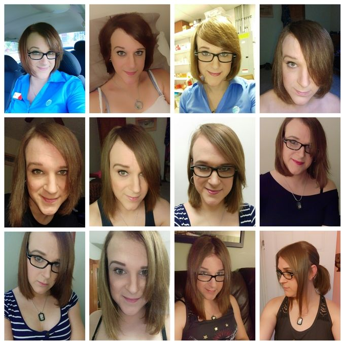 last haircut was september 2015 this is an 8 month timeline of hair