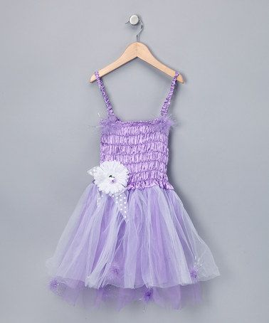 Take a look at this Purple Fairy Dress - Girls by The Butterfly Grove on #zulily today!