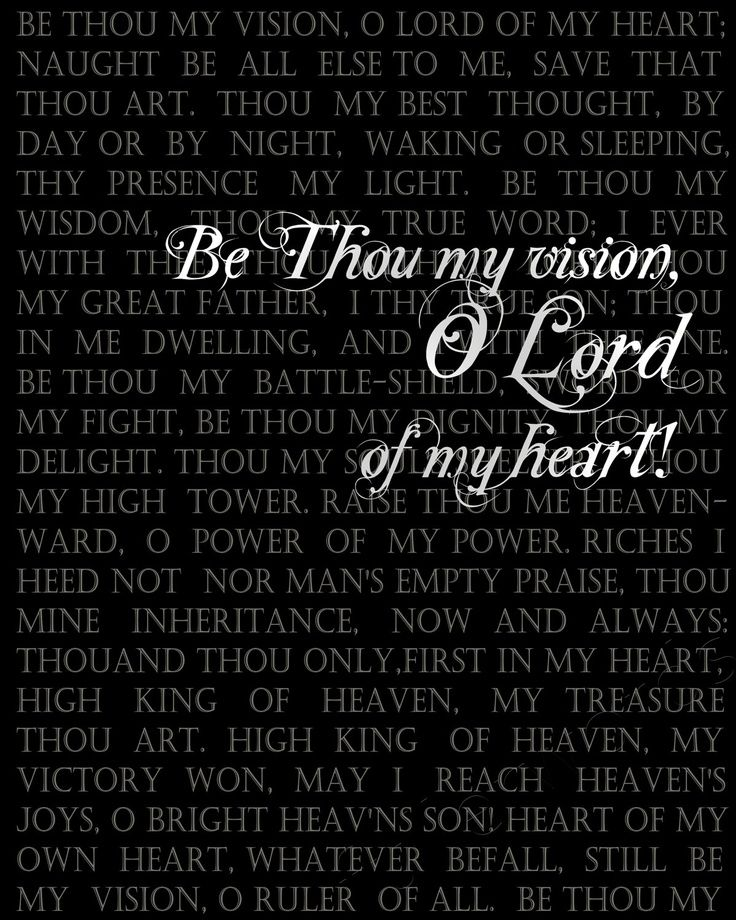 Lyric lord of the dance hymn lyrics : Hymn, Be Thou My Vision | Psalm 95:1 | Pinterest | Psalm 95 and ...