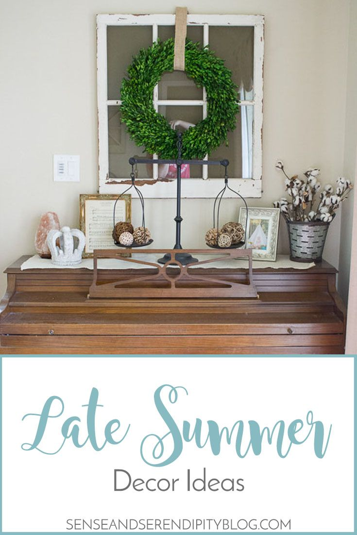 Late Summer Decor Ideas images