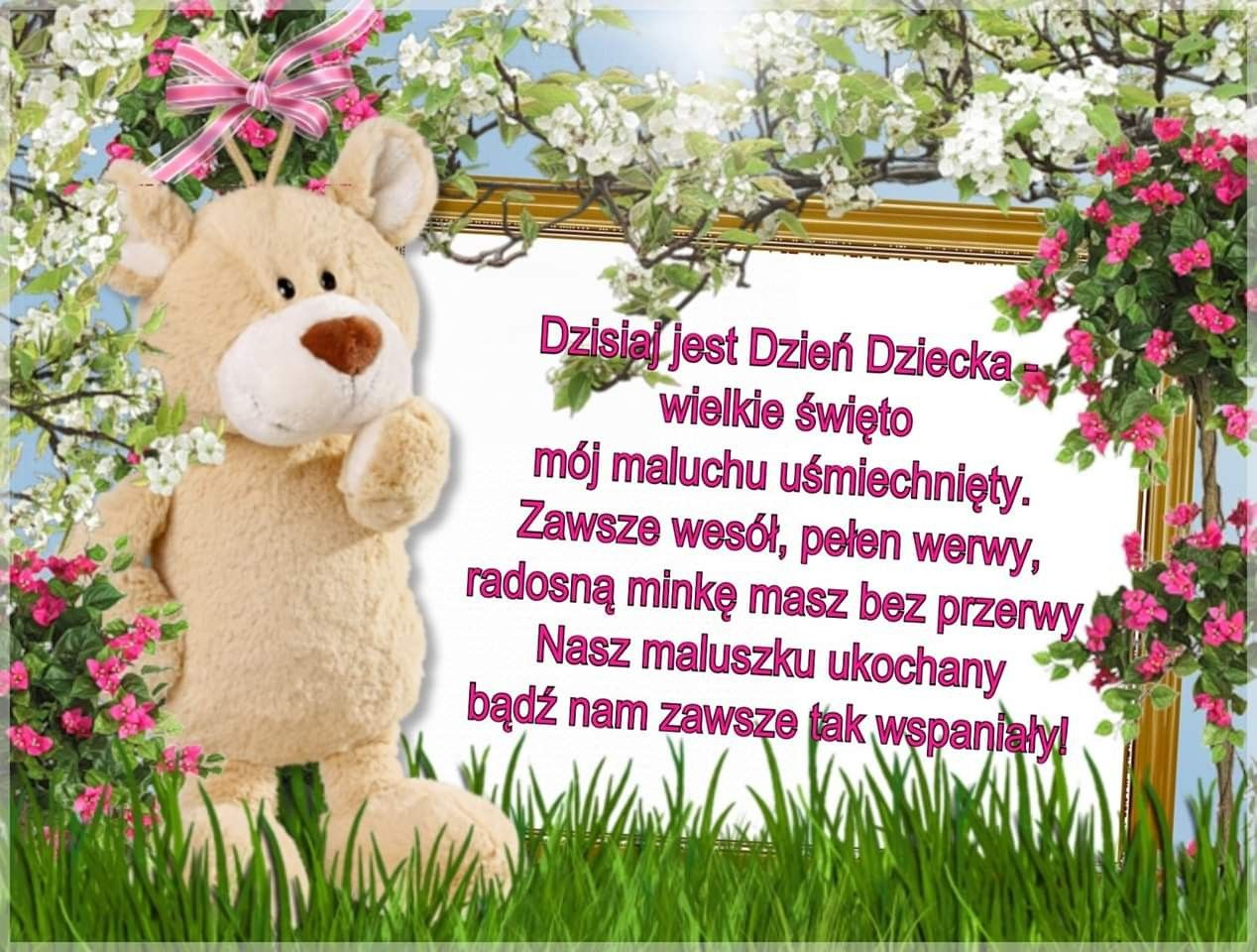 Pin By Paulina Juchniewicz On Dzien Dziecka Teddy Bear Teddy