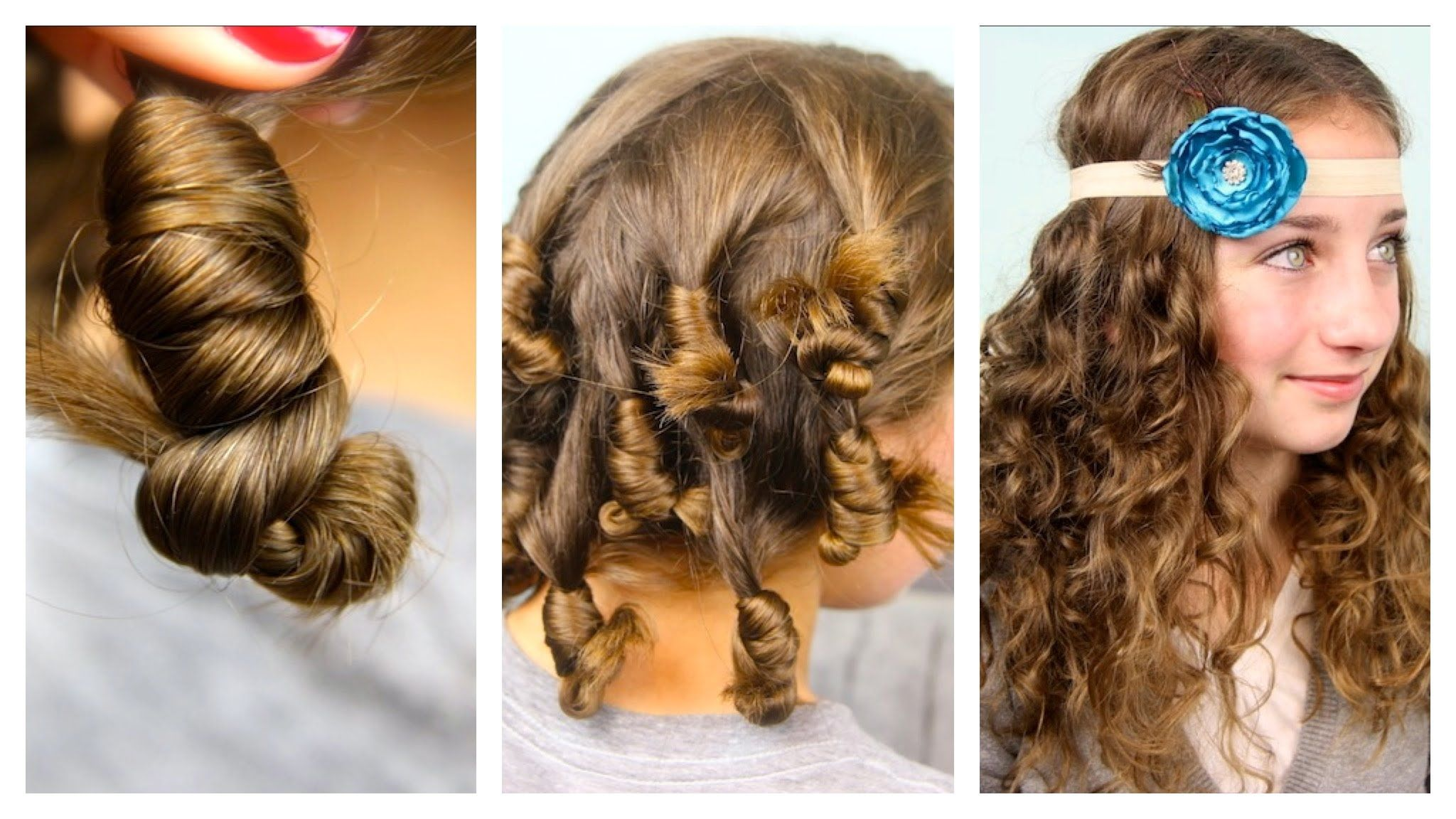 Cocoon curls easy noheat curls cute girls hairstyles