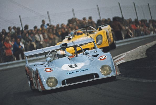 Mike Hailwood Of Great Britain Drives The 5 Gulf Racing Mirage M6