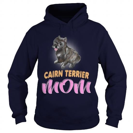 I Love My Cairn Terrier Mom Dog Lover T shirt