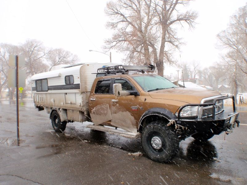 Alaskan Camper On Full Size Expedition Vehicle Pickup