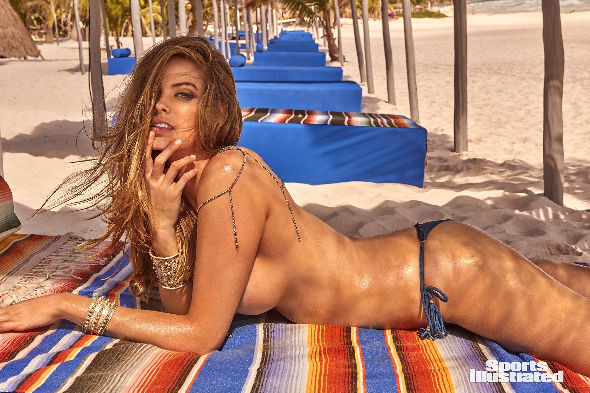 52e748d0fa4a4 Robyn Lawley was photographed by Ruven Afanador in Mexico. Swimsuit by ViX  Paula Hermanny.