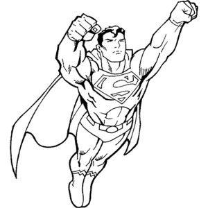 Super Man Sketch Colorasketch Free Download