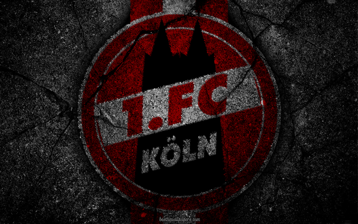 Download wallpapers FC Koln, logo, art, Bundesliga, soccer ...