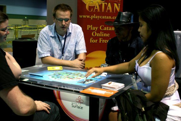 hands on with the settlers of catan on microsoft surface tested