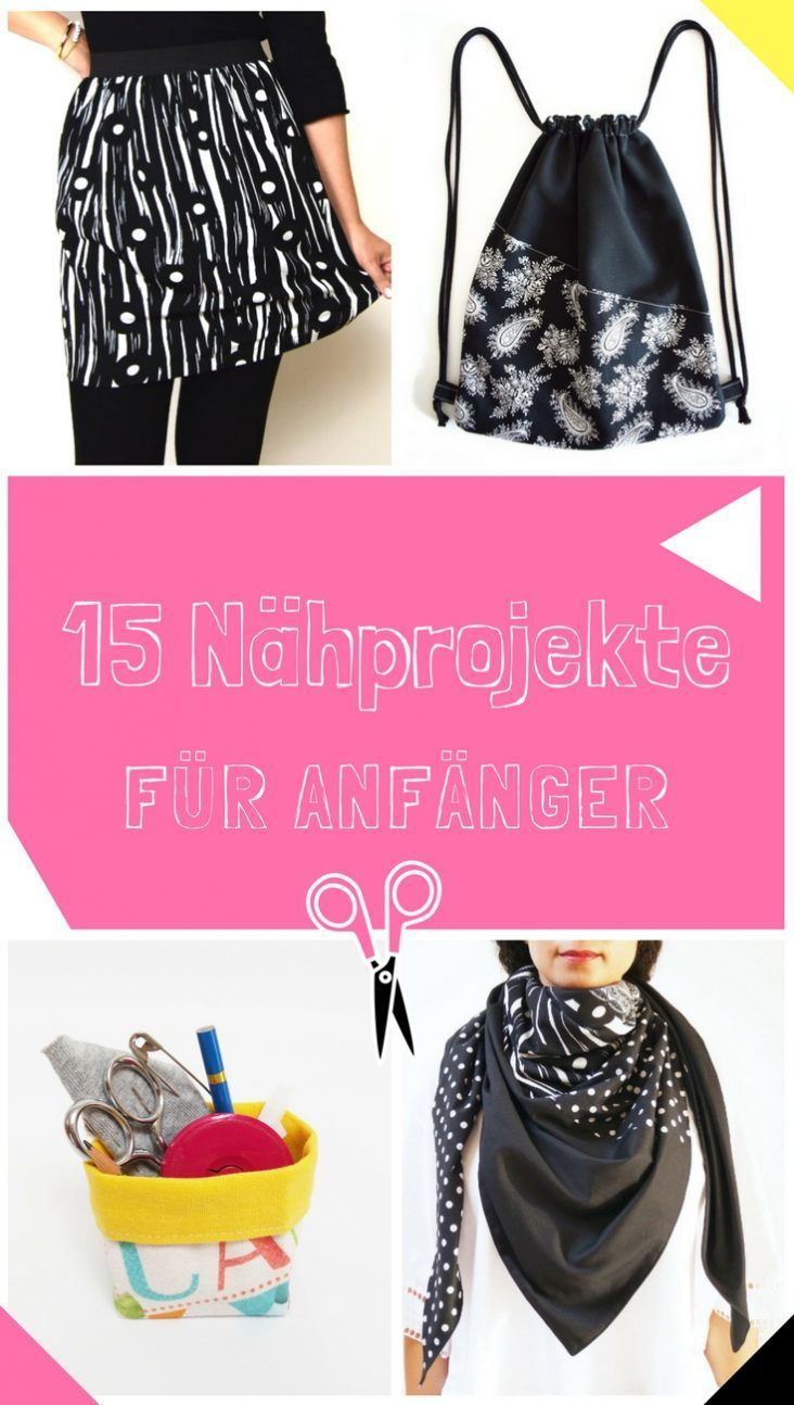 Photo of 15 Ideen für Nähanfänger  |  DIY MODE