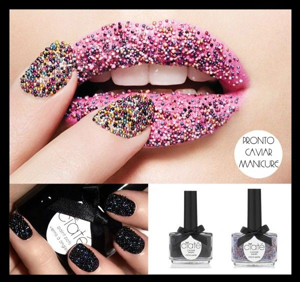 Caviar #nails #esmalte   esmalte / nails   Pinterest   Manicuras ...