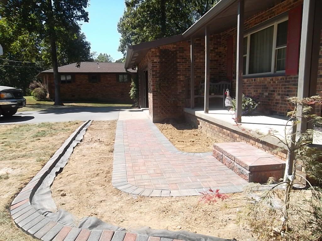 Brick Paver Edging Brick Paver Walkway Allan Block Step Brick Paver Edging Www