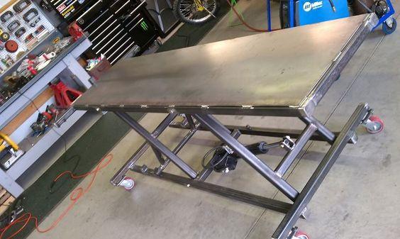 MC Lift Table Project - Custom Fighters - Custom ...