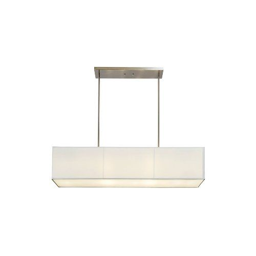 Sharper image si100015 rectangular pendant lamp with off white sharper image si100015 rectangular pendant lamp with off white linen shade sharper imagehttp mozeypictures Gallery