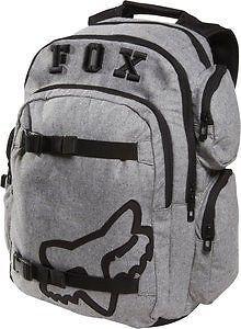 Fox Racing Step Up 2 Backpack Charcoalgrayblack Bags