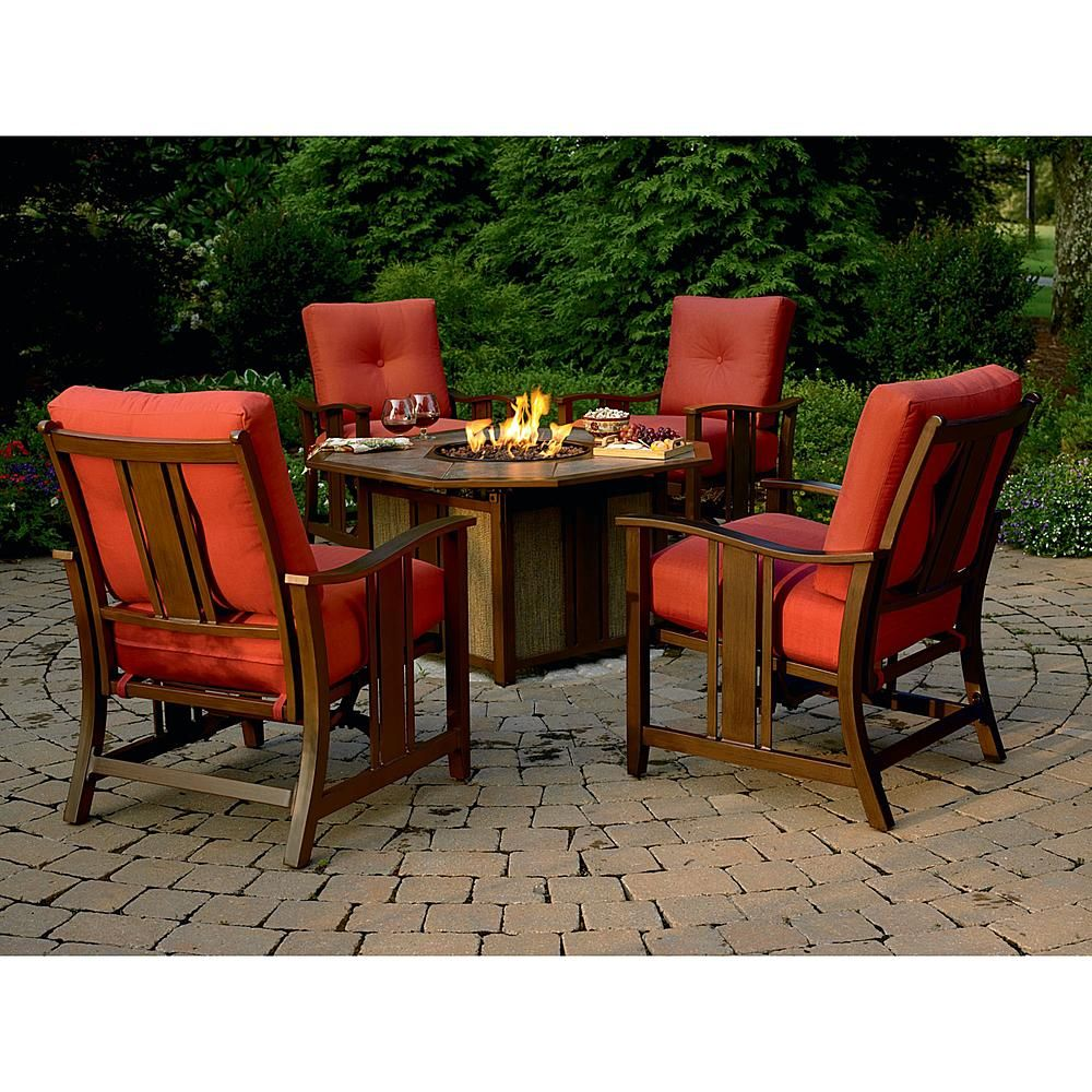 Wessington Outdoor Gas Fire Pit Stay Warm In Comfort With Sears