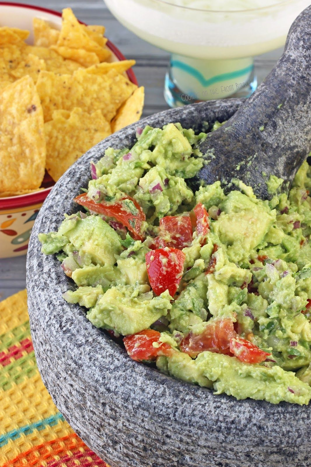Guacamole - create your own with this easy recipe   Cooking on the Front Burner #guacamole #mexican #avocados