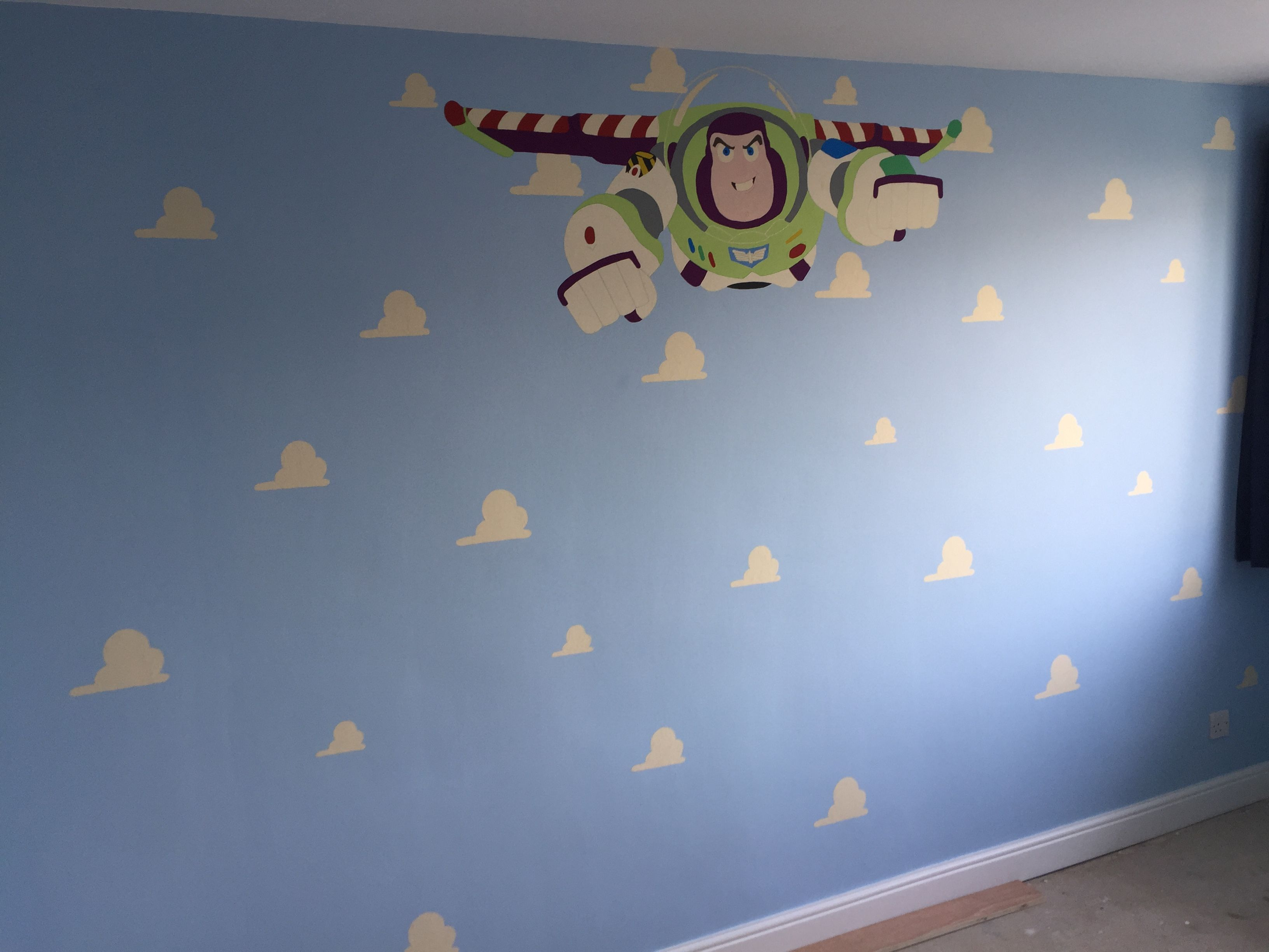 Buzz Lightyear Wall Mural Part 9