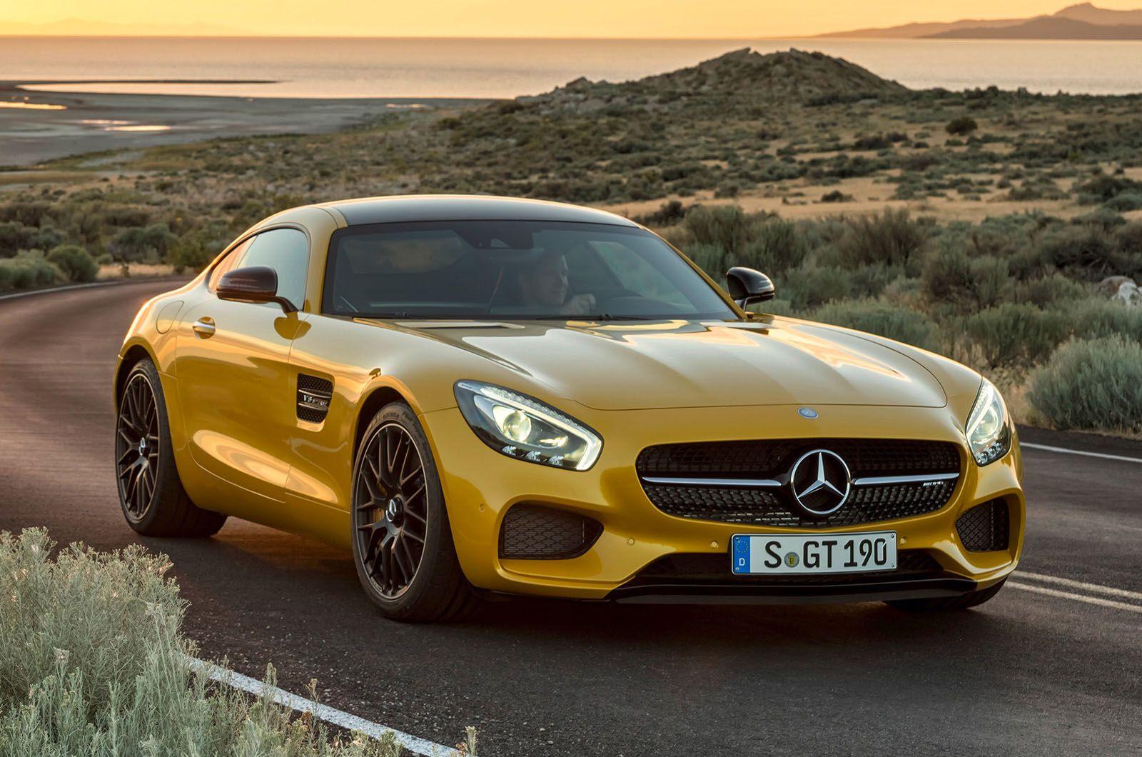 New MercedesAMG GT revealed in Paris New mercedes amg