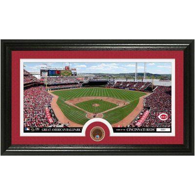 Cincinnati Reds Panoramic Photomint Cincinnati Reds Panoramic Photo Cincinnati