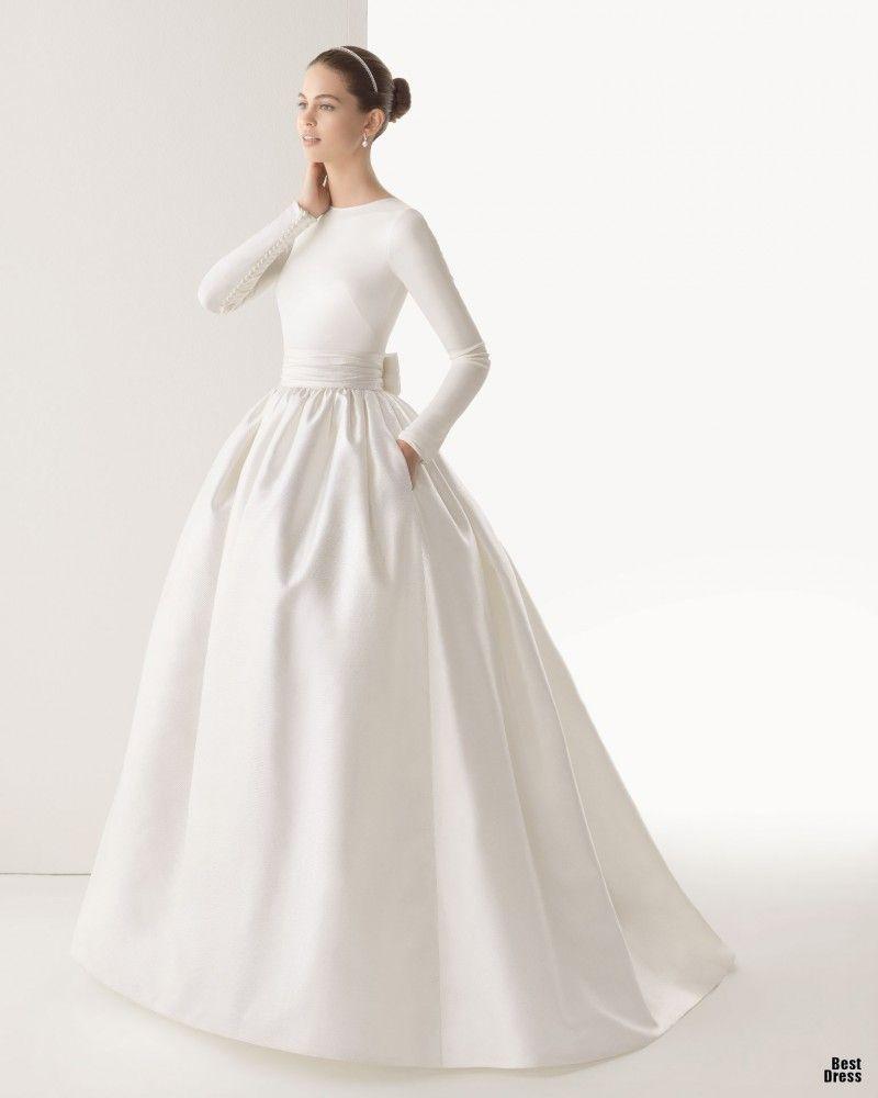 Conservative wedding dresses  Rosa Clara   Bodas  Pinterest  Rosa clara  Rosa clara