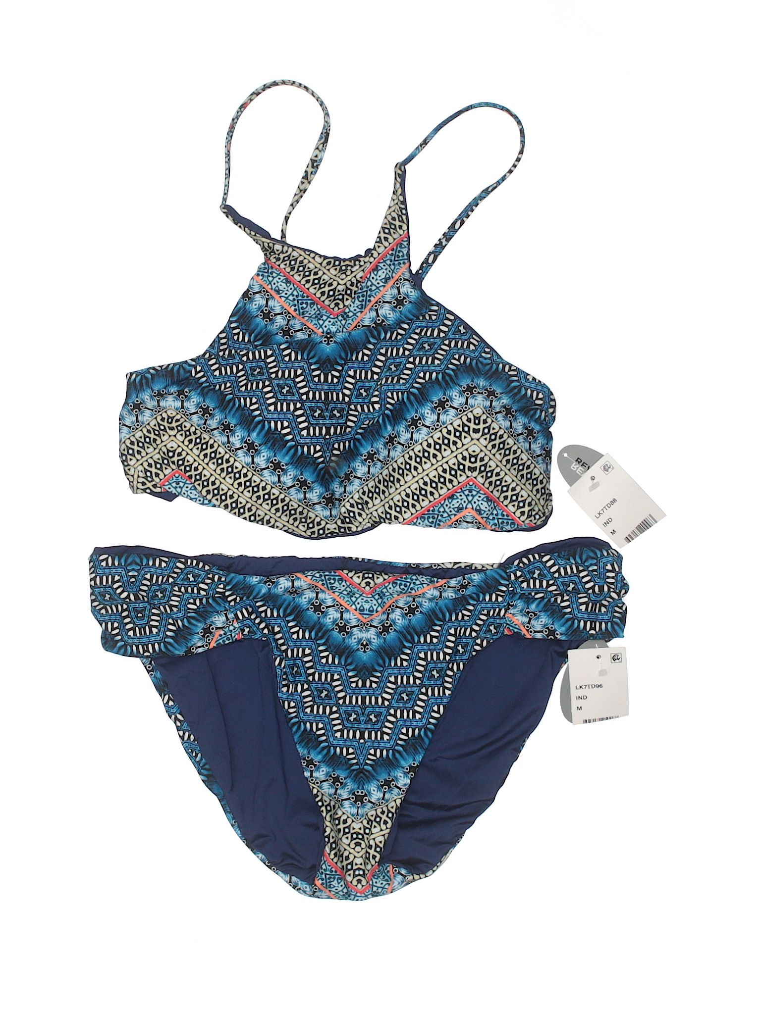 Lucky Brand Girls Two-Piece Swimsuit