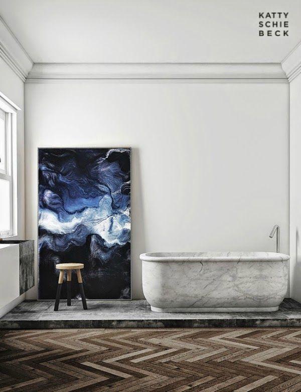 Passeig de Gràcia by Katty Schiebeck marble bath  Hege in France