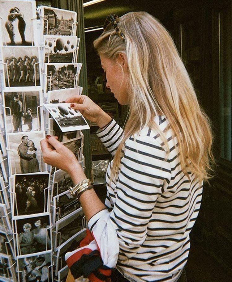 Claartje Rose, Dutch blogger, stripes